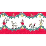 HOLIDAY PARADE DOUBLE BORDER