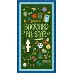 "BACKYARD ALL STAR PANEL -24"" REPEAT"