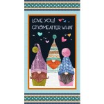 "LOVE YOU! GNOME-ATTER WHAT PANEL-24"" repeat"