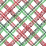 PEPPERMINT CANDY PLAID