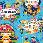 PAUL FRANK CARNIVAL ALLOVER - NOT FOR PURCHASE BY MANUFACTURERS