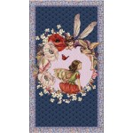 "ELDERBERRY FLOWER FAIRIES PANEL - 24"" repeat - NOT FOR PURCHASE BY MANUFACTURERS"