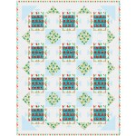 "Deck the Halls Quilt by Natalie Crabtree /55""x71-3/4"""