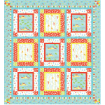 Down by The Sea QUILT by Heidi Pridemore