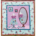 "Little Sewists Dressmaking Quilt by Heidi Pridemore /37""x39.5"""