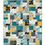 "Easy Basket Quilt by Cluck Cluck Sew /55""x64"""
