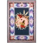 """Elderberry Flower Fairies Panel Quilt by Marinda Stewart /41""""x60"""""""
