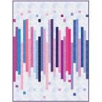 "Fairy Frost Loose Change - Twilight Sky Quilt by Sam Hunter of Hunter's Design Studio /60""x84"""