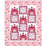 """Fairy Tales Pink Quilt by heidi pridemore /64""""x79"""""""