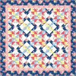 "Farmhouse Lap Quilt by Swirly Girls Design /60""x60"""