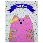 "Fat Cat Quilt  by Shiny Happy World /42""x42"""