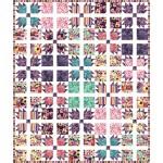 """Sachet Floral Fancy Quilt by Charisma Horton 70""""x84"""""""