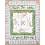 """Flower Girl Quilt by Marinda Stewart /41""""x51"""""""