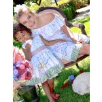 Flower Girl Shift Dress and Party Dress by Fiveloaves Twofish