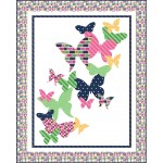 "Flutterby Quilt by Emily Herrick / 57""x71"""