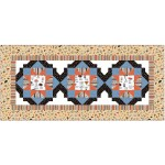 "Forage Table Runner by Heidi pridemore /66""x30"""