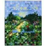 """Fractured Landscape Quilt by Marinda Stewart - 40x48"""""""