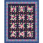 French Garden Quilt by Swirly Girls Design