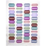 "French Macaron Quilt by Modern Handcraft / 52""x70"""