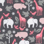 ZOOLOGY on Cotton Flannel
