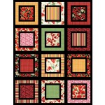 "Garden Patch by Heidi Pridemore /48""x64"" - Fat quarter Friendly"