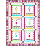 "Girlfriends Quilt by Marinda Stewart   /41""x57"""
