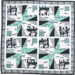 "Global Impact Quilt by Denise Russell of Pieced Brain /24""x24"""
