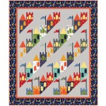"Good Knight Quilt by Heidi Pridemore /65""x77"""