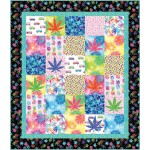"""The High Life by Susan Emory 59""""x68"""" - Pattern available in May, 2021"""