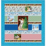 """Chrismas Wishes by Susan Emory 64""""x62"""" -Pattern Available in April, 2021"""