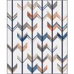 "Archer - Harmony Quilt by Swirly Girls Design 60""x73"""