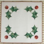 Holly Holiday  by Violet Craft - 55x55""