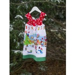Holly Jolly Gnomes Dress