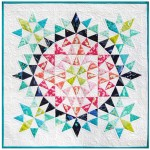 Kaleidoscope Mini Quilt by Debbi Groskopf