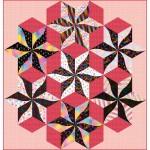 "Constellation - Kaleidoscope Quilt by Everyday Stitches 70""x73"""