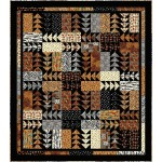 "Rush Hour Quilt by the fabric addict 88""x100"""