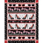 BOUDOIR SHADES AND SHOES QUILT KIT
