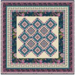 """Provencial La Fleur Tiles Taupe Quilt by Diane Nagle /48""""x48"""" - Instructions Coming soon"""