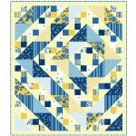 "Provencial Labyrinth Cream Quilt by Heidi Pridemore /58""x67"""