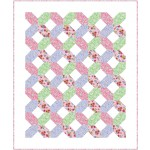 """Hugs and Kisses La Fiesta Quilt by Swirly Girls Design - 55""""x67"""""""