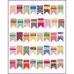 "Summer Bunting Quilt by Diary of a Quilter /66""x84"""