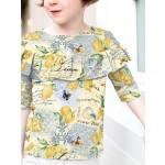 Limoncello Laurel Blouse