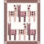 """llama lovin' quilt - llama love by coach house designs /62""""x76"""""""