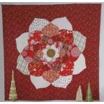 "Mandala Christmas by Violet Craft - 60x60"""