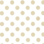 QUARTER DOT PEARLIZED - WHITE ROSE GOLD