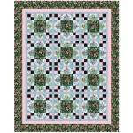 "Midday at the Oasis Quilt by Heidi Pridemore / 68""x85.5"""
