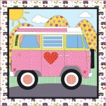 "My Sweet Ride Quilt by Heidi Pridemore /61""x61"""