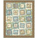 "block talk - nature's choir quilt by swirly girls design 54""x65"""