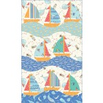 "Newport Sails Quilt by everyday Stitches 28""x51"""