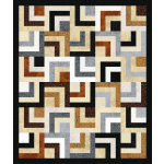 Neutral Nexus Quilt by Heidi Pridemore